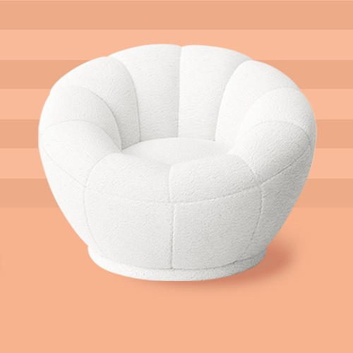 Tulip Chair Cream - Pillowfort™