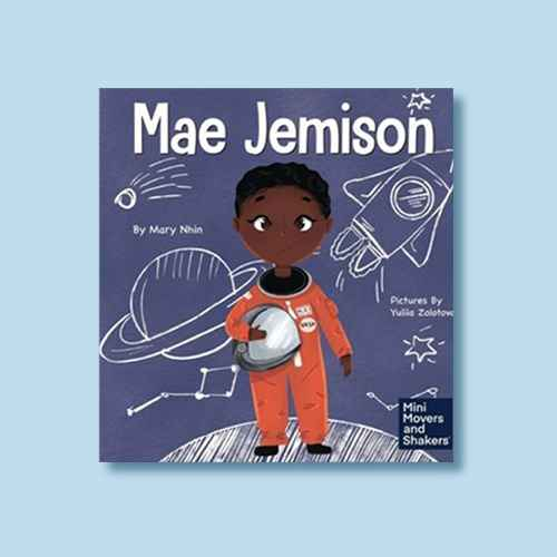 Mae Jemison - (Mini Movers and Shakers) by  Mary Nhin (Hardcover)