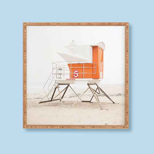 "Bree Madden Beach Tower Framed Wall Art Orange - Deny Designs, Bree Madden  Beach Tower 5 Framed Wall Art, Bree Madden  California Palm Trees Framed Wall Art, Bree Madden Tower 23 Framed Art - Deny Designs, (Set of 2) 16"" x 20"" Van and Surfboard Framed Wall Art - Project 62™, 24"" x 24"" Beach Framed Wall Art White - Threshold™"