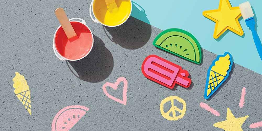 10pc Chalk Paint Set - Sun Squad™