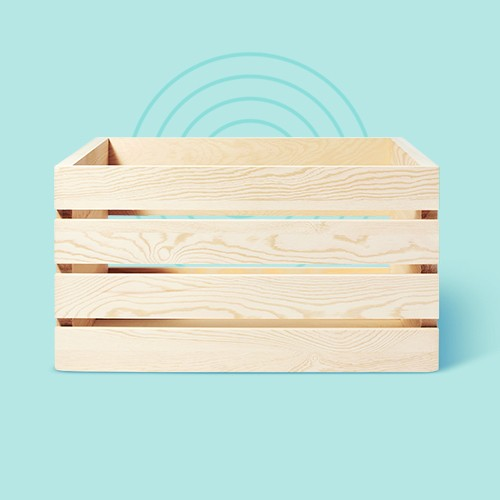 Large Wood Crate - Mondo Llama™