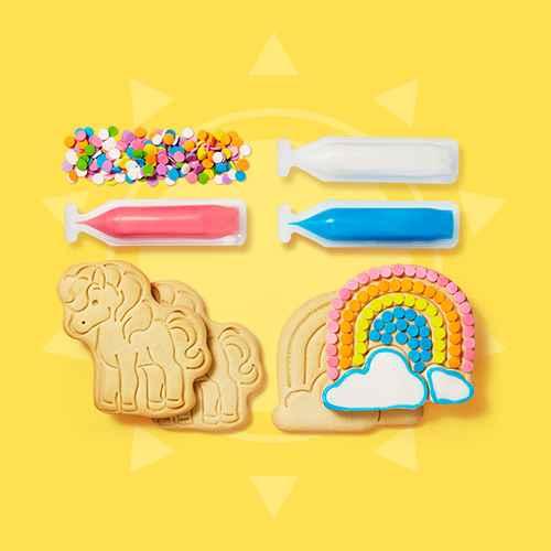 Unicorn & Rainbow Cookie Kit - 7.02oz/4ct - Favorite Day™, Bee & Flower Cookie Kit - 7.16oz/4ct - Favorite Day™, Wilton 15pc Cookie Decorating Kit, Star Spangled Sugar Cookie Decorating Kit - 14.67oz/8ct - Favorite Day™, Nordic Ware Deluxe Spritz Maker & Cupcake Decorating Kit, Unicorn Sugar Cookie - 2.12oz - Favorite Day™