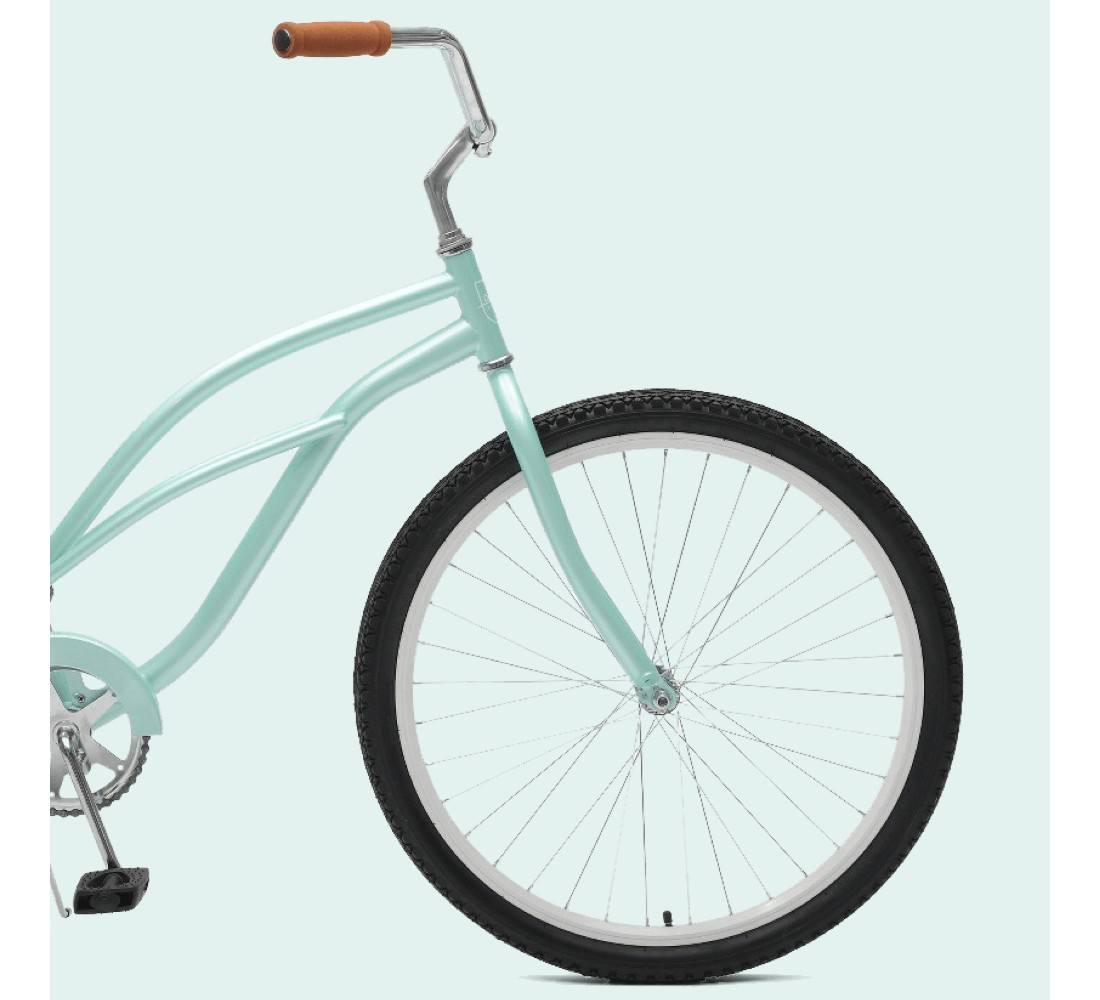 Critical Cycles Ladies Chatham 1-speed Cruiser Bike- 26