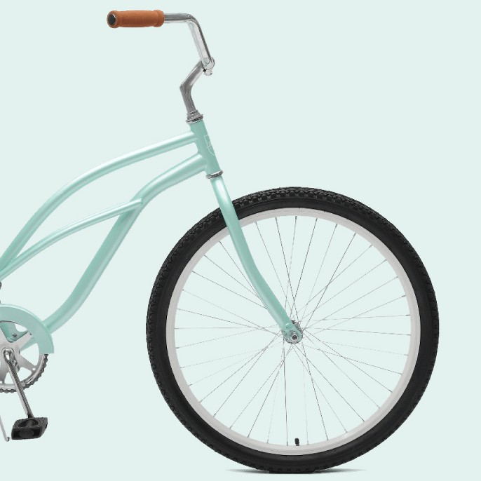 Critical Cycles Ladies Chatham 1-speed Cruiser Bike- 26