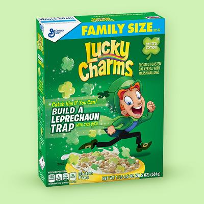 Spring Lucky Charms Breakfast Cereal - 20.5oz - General Mills