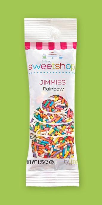 Sweetshop Rainbow Jimmies Sprinkle Packet - .035oz