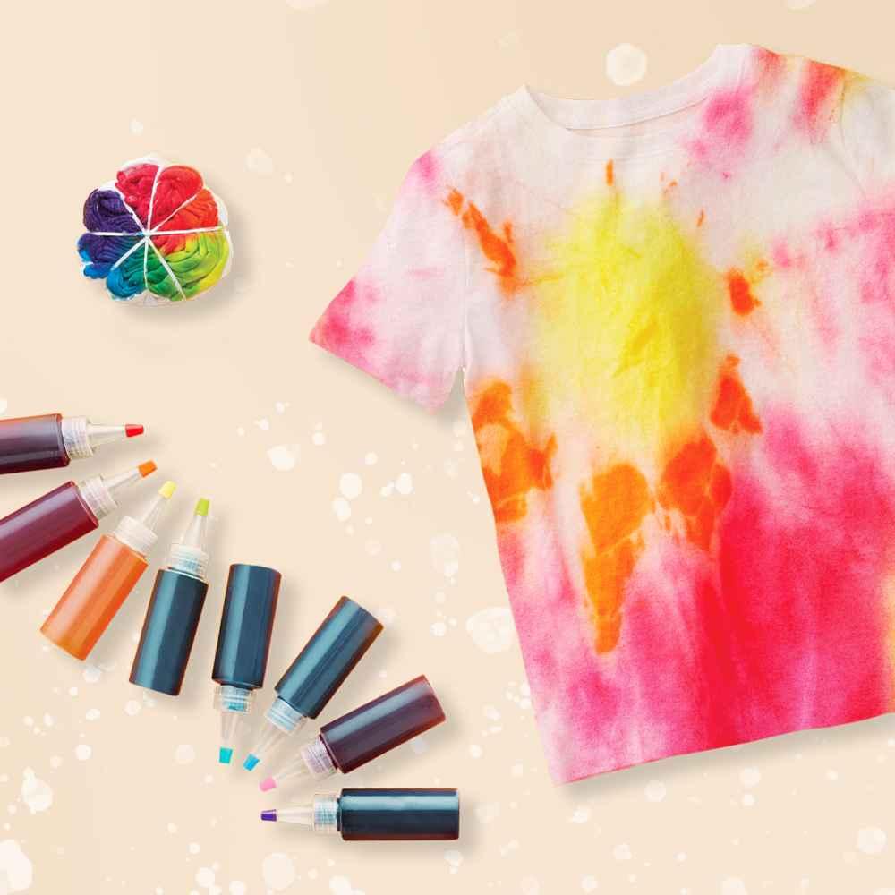 Give It A Swirl Tie Dye Kit - Mondo Llama™, Hanes Men's 6Pk Crew Neck T-Shirt With Fresh IQ - L White, Hanes Boys' 5pk Crew T-Shirt - White L