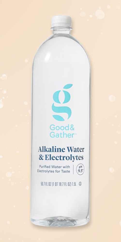 Alkaline Water - 1.5L Bottle - Good & Gather™, Alkaline Water - 6pk/23.7 fl oz Bottles - Good & Gather™, Purified Water - 32pk/16.9 fl oz Bottles - Good & Gather™