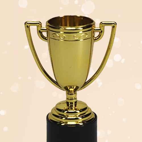 12ct Mini Trophy Party Favors - Spritz™