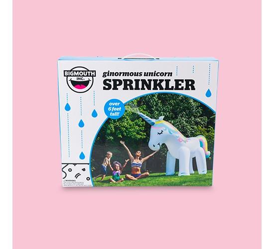Big Mouth Toys Unicorn Sprinkler - White