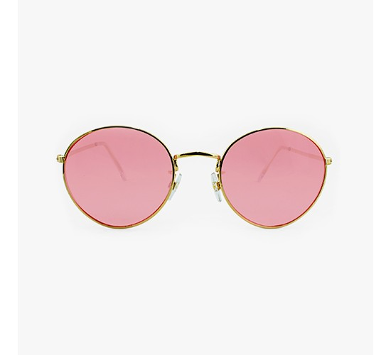 Women's Round Sunglasses with Lenses