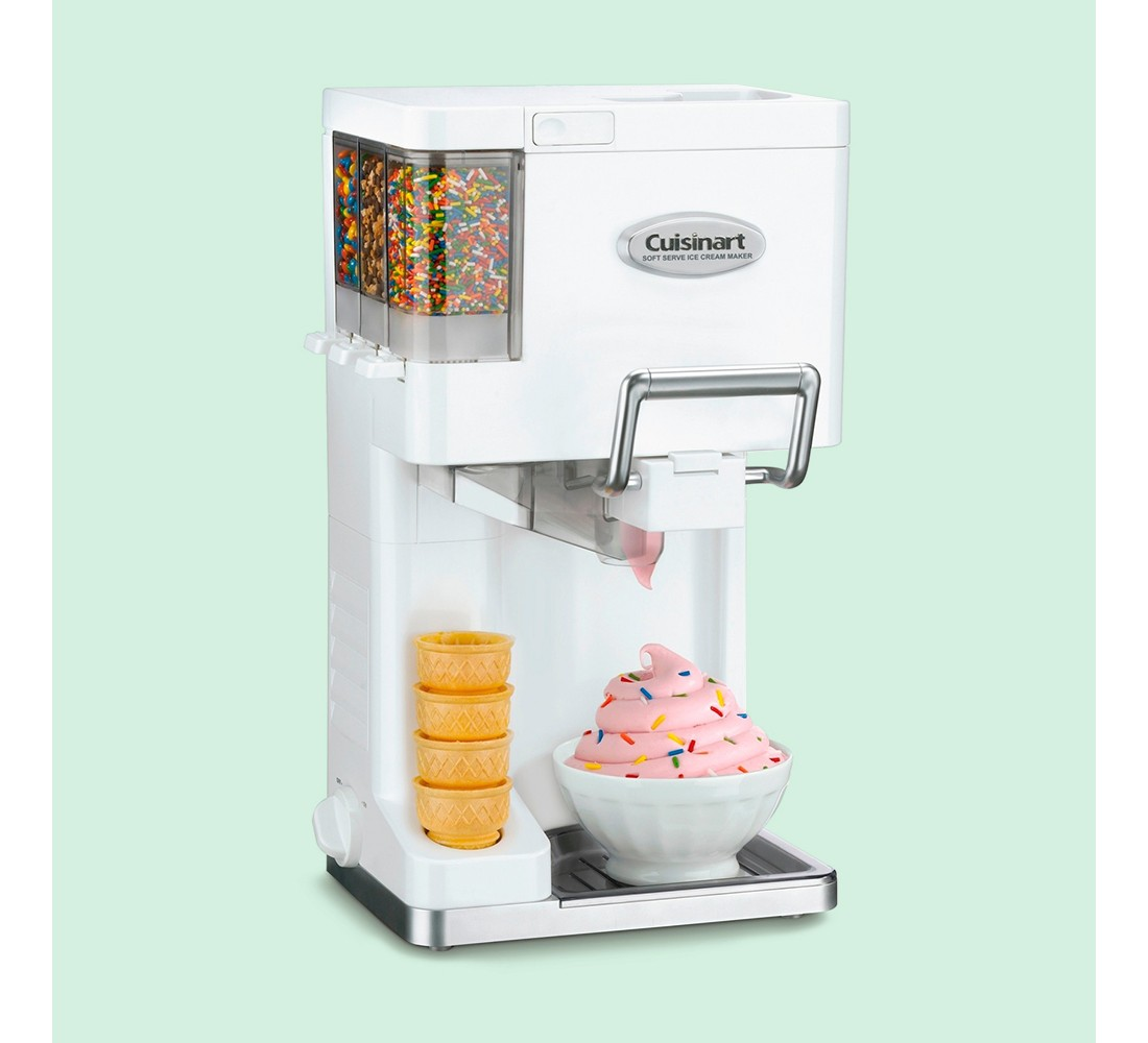 Cuisinart® MixIt In Soft Serve Ice Cream Maker - White ICE-45