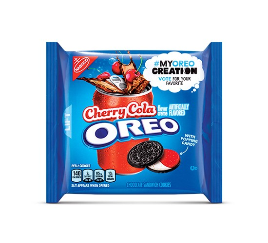 Oreo Cherry Cola Chocolate Sandwich Cookies - My Oreo Creation - 10.7oz