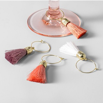 Wine Charm Accessories Pink/Red Set of 4 - Opalhouse™