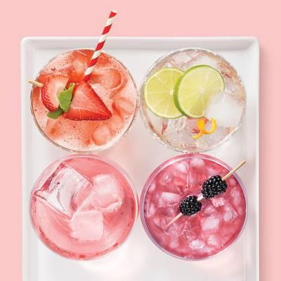 20ct Red Paper Straw - Spritz™, SodaStream Fizzi Sparkling Water Maker (Icy Blue), IZZE Sparkling Blackberry - 4pk/12 fl oz Glass Bottles, ReaLime 100% Lime Juice - 15 fl oz Bottle