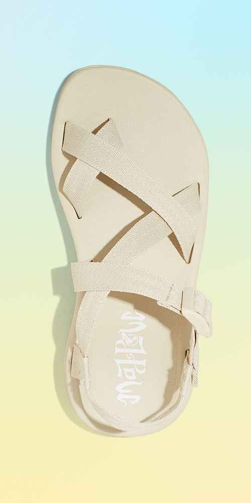 Women's Mad Love Nelle Sport Footbed Sandals - Bone 10