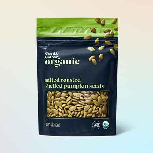 Organic Salted Roasted Shelled Pumpkin Seeds - 6oz - Good & Gather™, Pine Nuts - 2.25oz - Good & Gather™