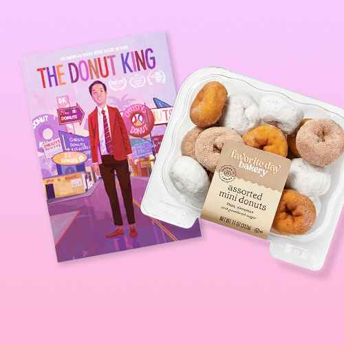 The Donut King (DVD)(2020), Assorted Mini Donuts - 11oz - Favorite Day™