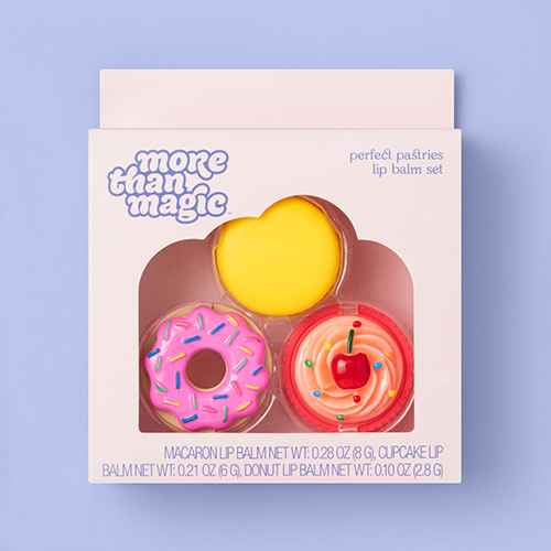 Perfect Pastries Lip Blam Set - More Than Magic™ - 3pc/0.59oz