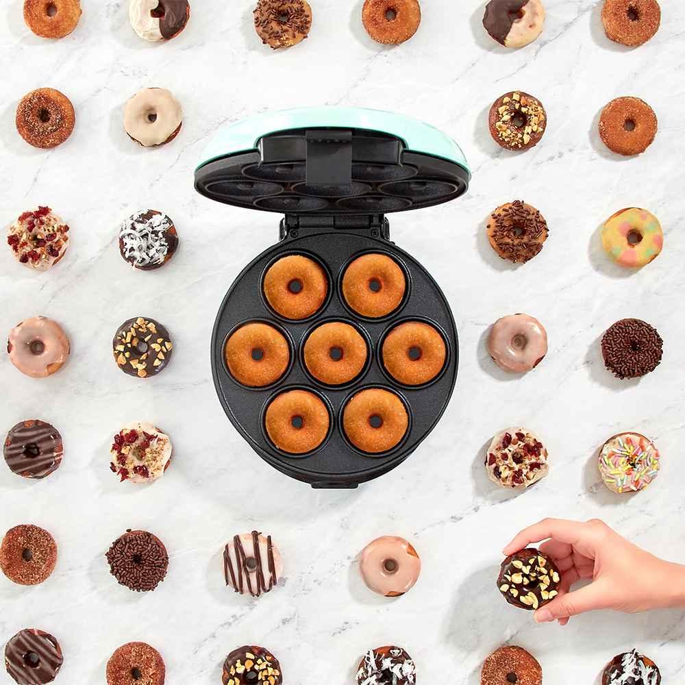 Dash Express Mini Donut Maker - Aqua