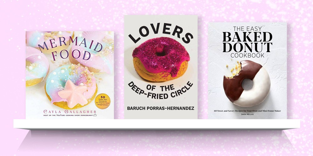 Mermaid Food - (Whimsical Treats) by  Cayla Gallagher (Hardcover), Lovers of the Deep-Fried Circle - by  Baruch Porras-Hernandez (Paperback), The Easy Baked Donut Cookbook - by  Sara Mellas (Paperback)