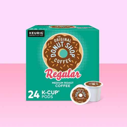 The Original Donut Shop Regular Keurig K-Cup Coffee Pods - Medium Roast - 24ct