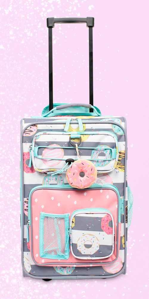 "Crckt 18"" Kids' Carry On Suitcase - Donut"