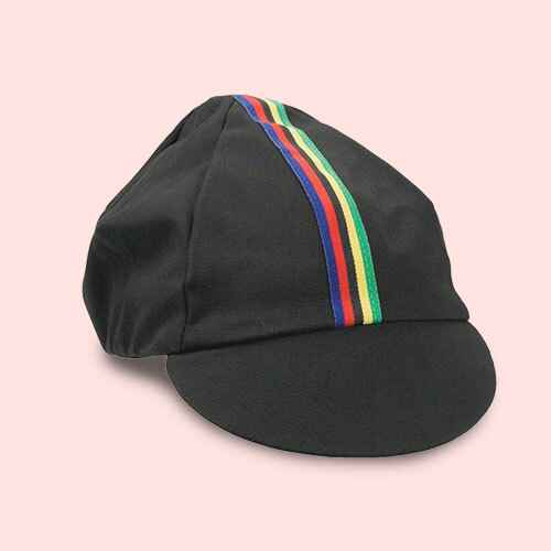 Pace Sportswear Traditional Cycling Cap M Black