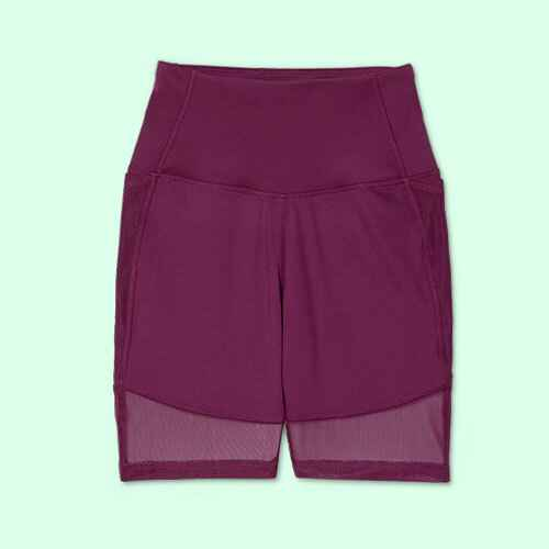 """Women's Contour Curvy High-Rise Bike Shorts 7"""" - All in Motion™"""