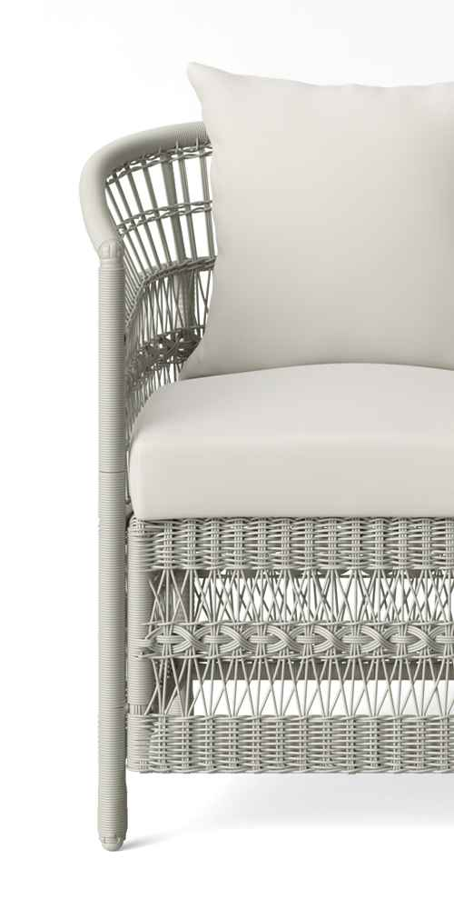 Mulberry 2pk Patio Club Chairs - White - Threshold™