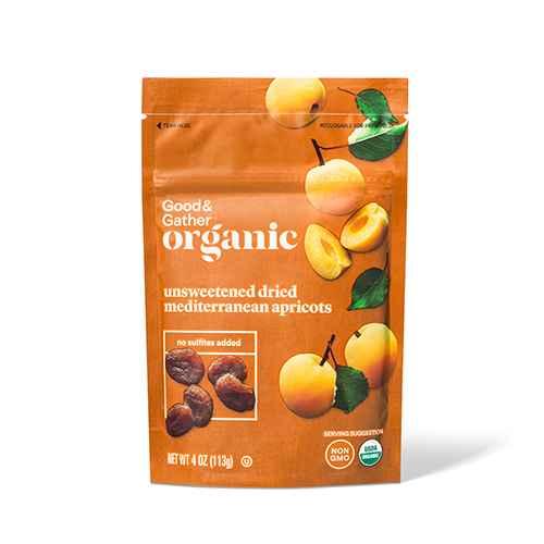 Organic Mediterranean Apricots - 4oz - Good & Gather™