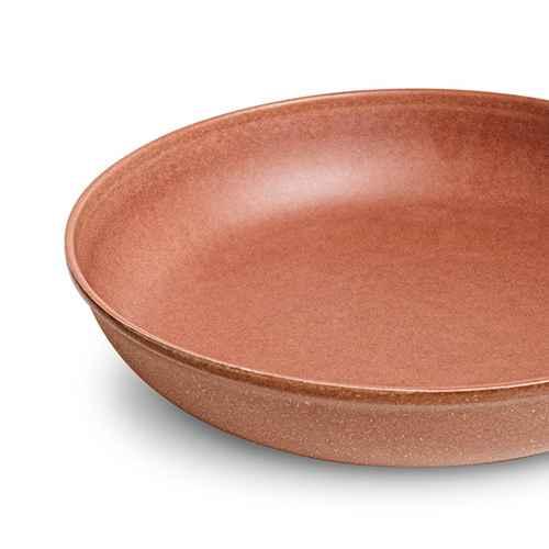 45oz Melamine and Bamboo Dinner Bowl Brown - Threshold™