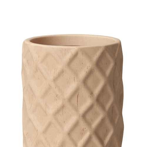 "16"" Outdoor Faux Wood Planter Beige - Opalhouse™"