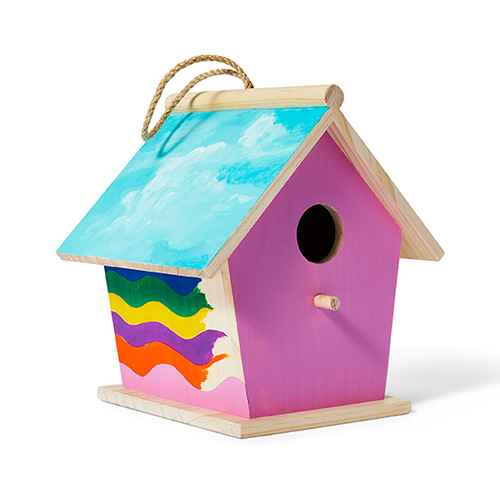 Wood Birdhouse - Mondo Llama™