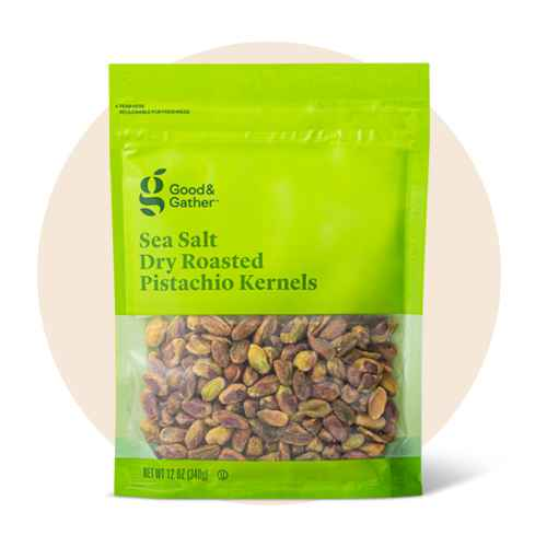 Sea Salt Roasted Pistachio Kernels - 12oz - Good & Gather™