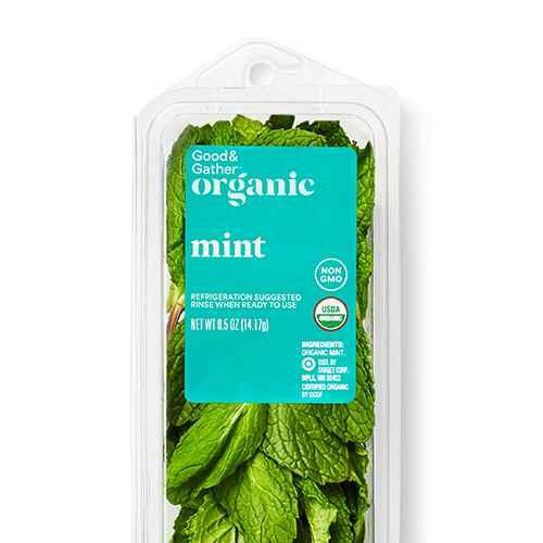 Organic Mint - 0.5oz - Good & Gather™, Organic Basil - 0.5oz - Good & Gather™