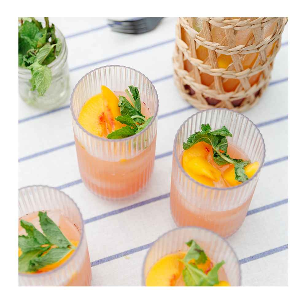 Organic Mint - 0.5oz - Good & Gather™, Frozen Sliced Peaches - 16oz - Good & Gather™, Prosecco Wine - 187ml Bottle - The Collection