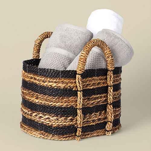 Basket Striped Black/Natural - Threshold™