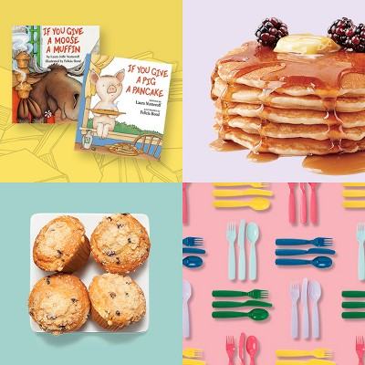 Family meals, inspired by delicious kids' books.