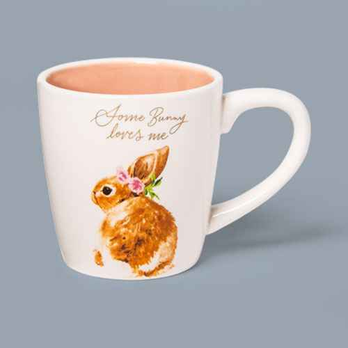 17oz Stoneware Some Bunny Loves Me Easter Mug - Threshold™