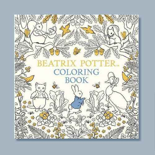 The Beatrix Potter Coloring Book - (Peter Rabbit) (Paperback)