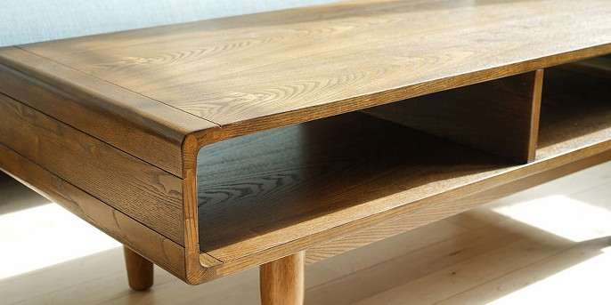 Dexter Mid - Century Coffee Table - Deco Walnut - Haven Home