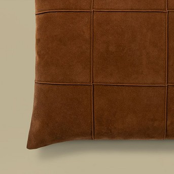 Faux Suede Square Pillow - Threshold™