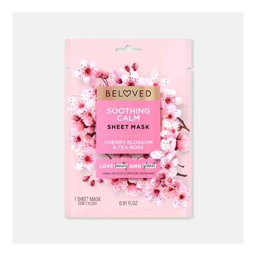 Beloved Cherry Blossom & Tea Rose Face Mask - 0.91 fl oz