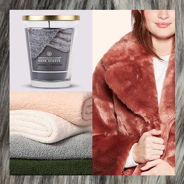 Cozy textures you'll want to snuggle up with, stat.