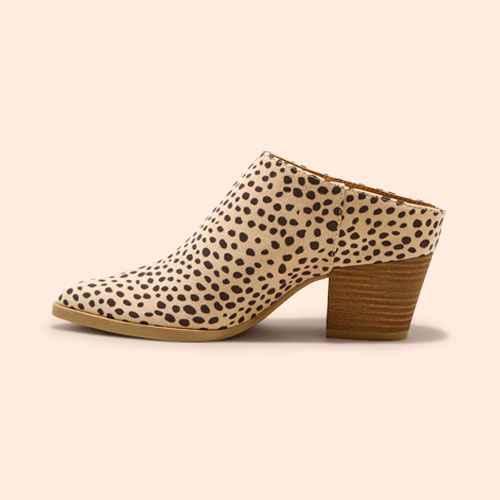Women's Makana Leopard Booties - Universal Thread™ Brown