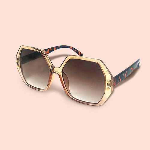Women's Square Sunglasses - Wild Fable™ Brown