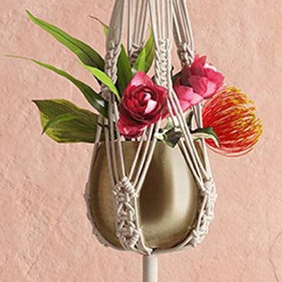 """8"""" X 42"""" Long Hand Made Cotton Plant Hanger - Opalhouse™"""