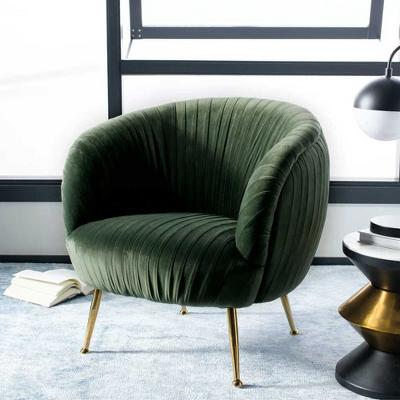 Ottillia Shell Accent Chair Olive Green - Safavieh