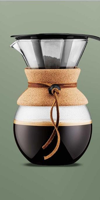 Bodum 8 Cup / 34oz Pour Over Coffee Maker